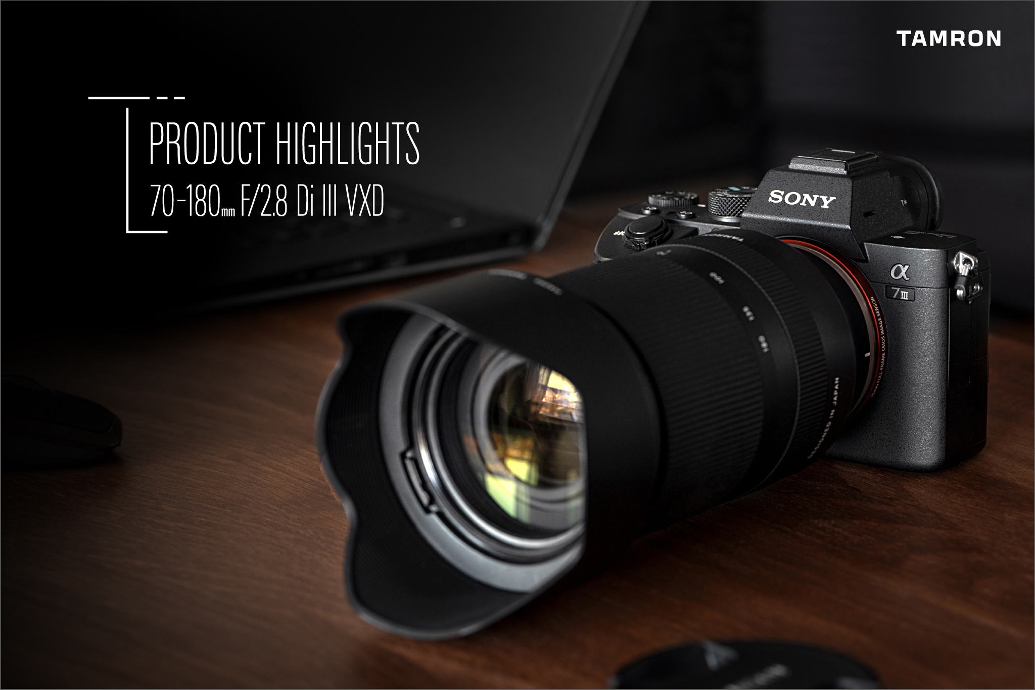 Product Highlight : TAMRON 70-180mm F/2.8 Di III VXD (Model A056)