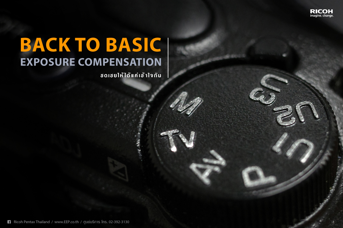 RICOH Back to Basic : EXPOSURE COMPENSATION